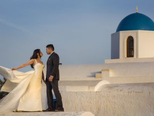 Julie and Maurice    - Santorini Wedding in Greece