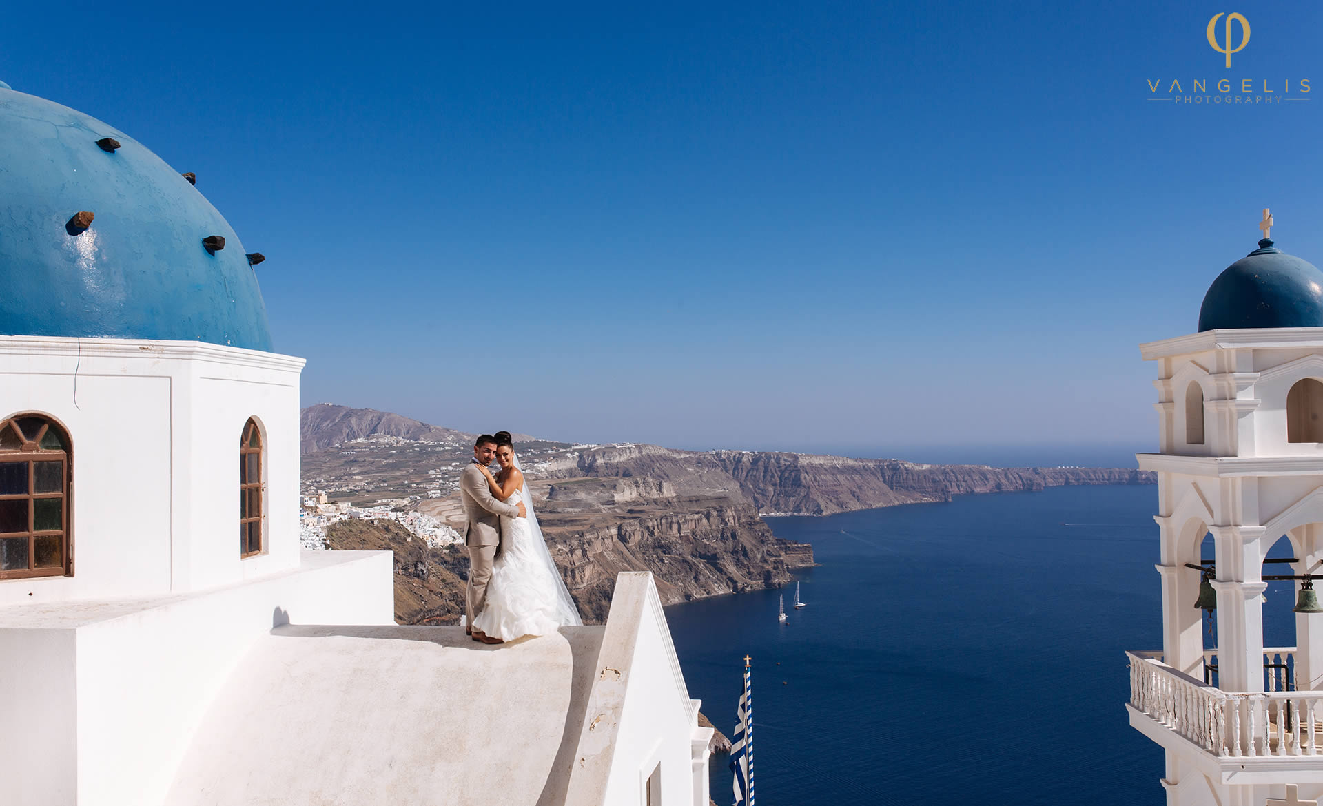 Wedding events planners in Santorini